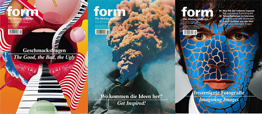 Steven Heller looks at FORM Magazine