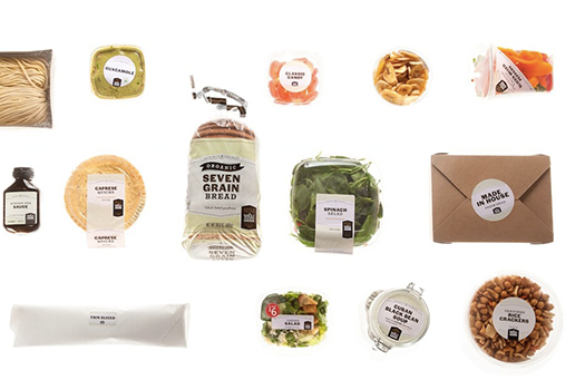 Whole Foods Packaging by Mucca