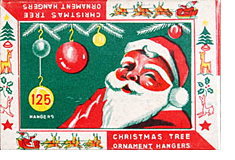 1950s Christmas Ornament Packaging